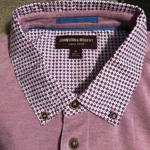 Johnston & Murphy polo shirt